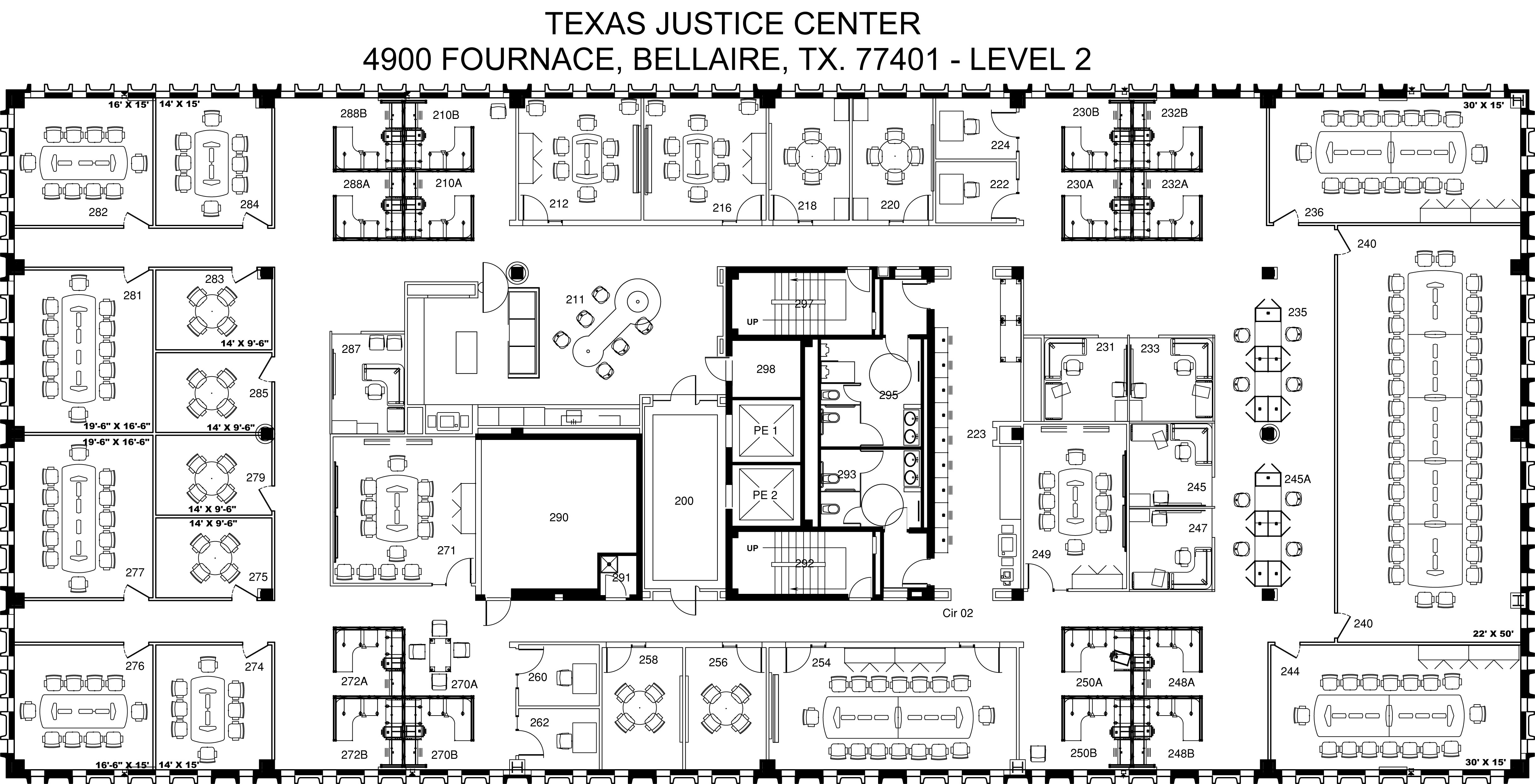 , Amenities, Texas Justice Center - Mediation Center & Arbitration Facility in Houston, Texas Justice Center - Mediation Center & Arbitration Facility in Houston
